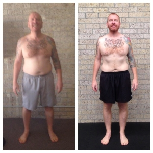 Richard Nash before and after 1